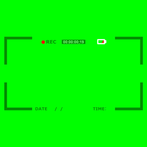 فوتیج کروماکی ضبط فیلم دوربین (پرده سبز)