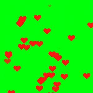 فوتیج کروماکی قلب (پرده سبز)